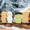 Cortantes Halloween Momia y Zombie, Decora, galletas fondant, galletas decoradas
