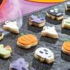 Mini cortantes Halloween, Decora, galletas fondant, galletas decoradas