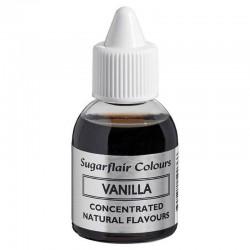 Aroma Vainilla, pasteles, cupcakes, glasas, cremas, sugarflair natural flavours vanilla