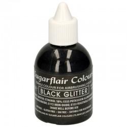 Colorante aerografo negro brillante, Sugarflair