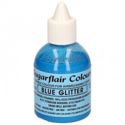 Colorante aerografo azul brillante, Sugarflair