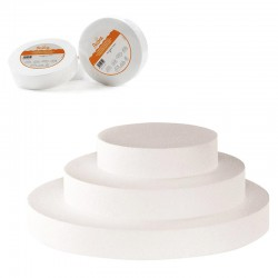 dummy , base poliespan redonda, tartas esposicion