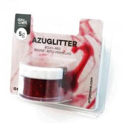 Purpurina decorativa Azuglitter Roja