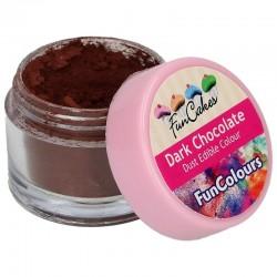 Colorante polvo FunCakes Marrón, FunColours Dark Chocolate