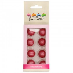 Bolas de chocolate Rosa perlado