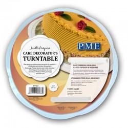 Plato giratorio, soporte giratorio, decoracion tartas, PME