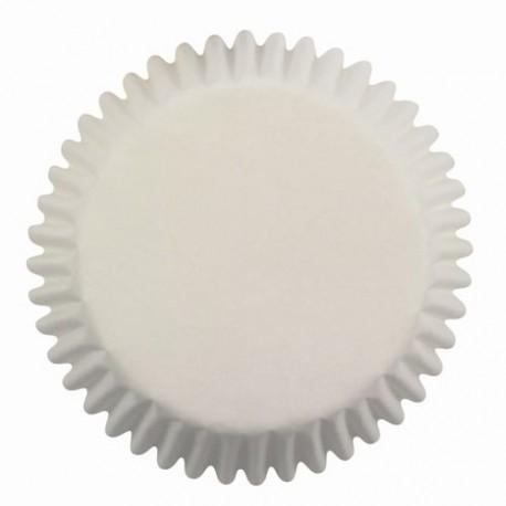 Cápsulas PME Blancas, moldes magdalenas cupcakes, pirotines