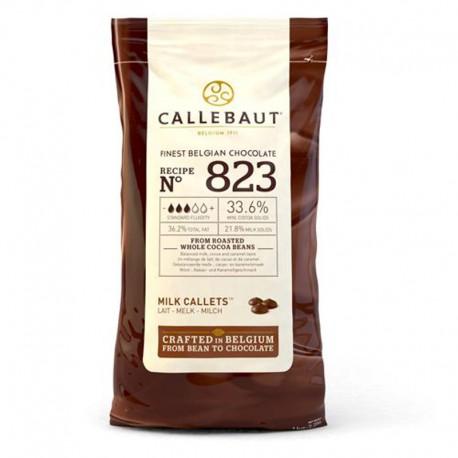 Callets Chocolate con leche, bombones callebaut