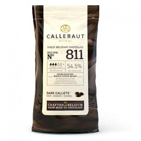 Callets Chocolate negro, bombones callebaut
