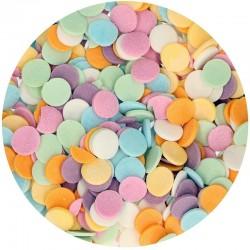 Confeti surtido de azúcar, decoración comestible, Funcakes tonos pastel