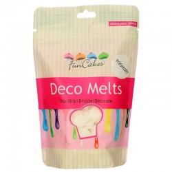 Deco melts FunCakes Blanco sabor Yogurt 250 g