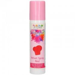 Spray Terciopelo ROJO 100 ml