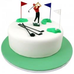 Set decoración de golf para tartas, PME