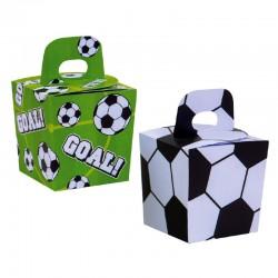 Caja dulces y caramelos, balones futbol, Decora