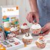 Decoracion azucar comestible animales, pasta de azúcar, Decora, galletas cupcakes