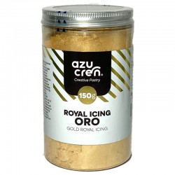 Preparado Glasa real o Royal icing oro, Azucren