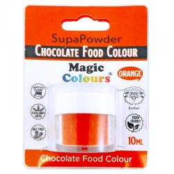 Colorante polvo para chocolate Magic Colours Naranja