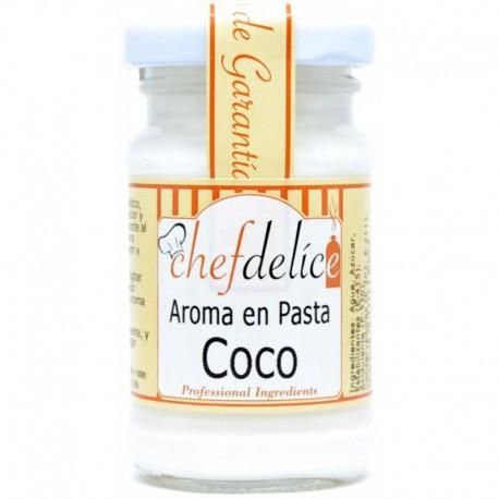 Aroma alimentario pasta coco, Chefdelice