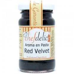 Aroma en pasta Chefdelice Red velvet 50 g