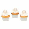 Bolas de chocolate perla blanco, decoracion postres