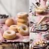 Molde Decora Donuts x 6