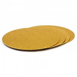 Base redonda fina ORO 30 cm