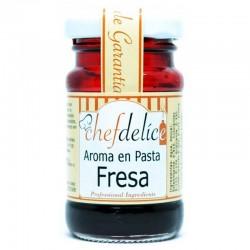 Aroma en pasta Chefdelice Fresa