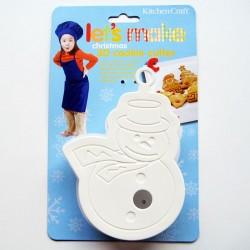 CORTANTE MUÑECO DE NIEVE 3D Kitchen Craft