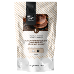 Preparado bizcocho de chocolate esponjoso, Azucren