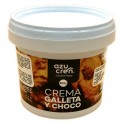 Crema chocolate blanco con galleta, Azucren