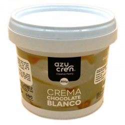 Crema chocolate blanco, azucren
