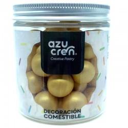 Bolas chocolate y cereales ORO METALIZADO 150 g