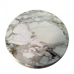 Base redonda mármol, Azucren