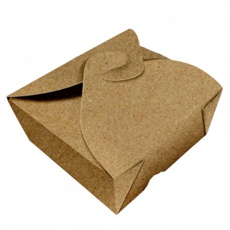 Caja Takeout craft 12x12 cm