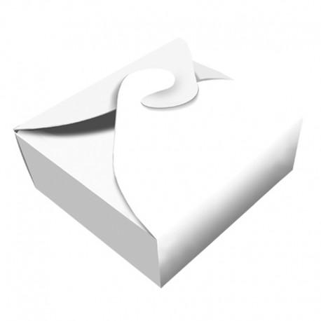 Caja Takeout Blanca 12x12cm