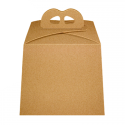 Caja Panettone craft 21x21 cm