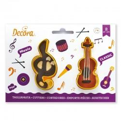 Cortantes Musicales Clave Sol & Violín