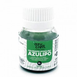 Colorante liposuble líquido verde, Azucren
