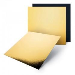 Base oro negra cuadrada, Pastkolor