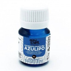 Colorante liposuble líquido azul, Azucren