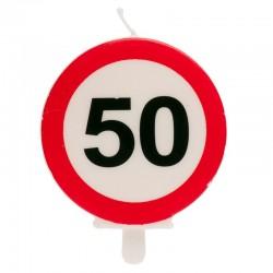Vela prohibido 50 cumpleaños, Dekora