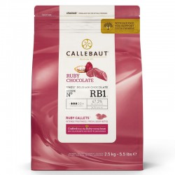 Callets chocolate Callebaut Ruby