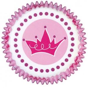Cápsulas Cupcakes Coronas Princesas Wilton