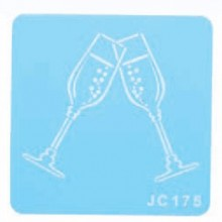 Stencil Jem Copas Champagne