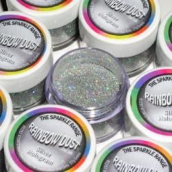 Sparkles Hologram Silver Rainbow Dust