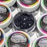 Sparkles Jewel Gunmetal Rainbow Dust