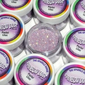 Sparkles Jewel Pastel Lilac Rainbow Dust