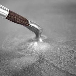 PINTURA COMESTIBLE METALICA PLATA Raimbow Dust