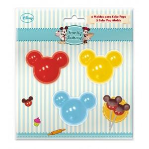 MOLDE CAKEPOPS MICKEY Disney x 3