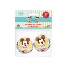 CAPSULAS MINI CUPCAKES MINNIE Y MICKEY x 60 Disney
